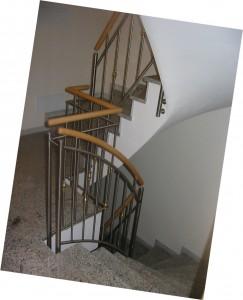 V2A-Treppengeländer